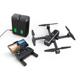 MJX B4W 5G WIFI FPV Com 4K HD Câmera ultra-sônica GPS Siga-me dobrável sem escova Quadricóptero RC RTF