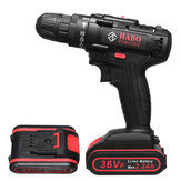 36V Electric Cordless Drill Screwdriver Dual Speed 25 Torque LED with Li-ion Battery