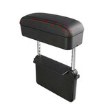 Universal Retractable Car Central Console Armrest Box PU Storage Case Accessorie