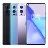 OnePlus 9 5G Global Rom 8GB 128GB Snapdragon 888 6,55 polegadas 120Hz Fluido AMOLED Display NFC Android 11 48MP Camera Warp Charge 65T Smartphone