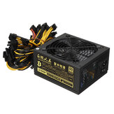 Original              1800W Miner Graphics Card Power Supply For Mining 180~240V 80+ Platinum Certified ATX PSU