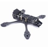 Fonsterfpv StrechX 223/258 / 296mm distância entre eixos 5/6/7 polegadas FPV Freestyle Frame Kit compatível com DJI Air Unit / VISTA Air Unit para RC Racing Drone
