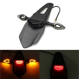 12V LED Enduro Fender-Brake Luz de sinal de luz traseira para moto Dirt Bike
