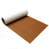 900x2300x6mm EVA Foam Teak Brown With Black Line Faux Teak Boat Decking Sheet