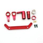 JLB Upgraded Metal Steering Assembly Set EA1009 for JLB J3 1/10 Racing Vehicle Models RC Car Parts
