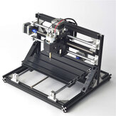 Black 3018 3 Axis Movable CNC Router Spindle Engraver DIY Wood Milling Engraving Machine 300x180mm