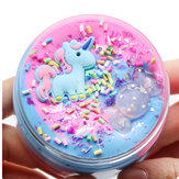 Единорог Хлопок Грязь Слизь Многоцветный Candy Clay Пластилин Пена DIY Игрушка