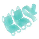 2pcs Dental Bite Blocks Soft Silicone Cheek Retractor Autoclave Orthodontic Oral Care Dental Tools