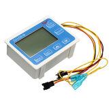 G3/4インチ水センサーメーターデジタルLCDディスプレイ定量制御1-60L / mi