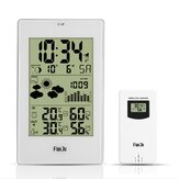 Digital Weather Station Alarm Wall Clock Temperature Humidity Wireless Outdoor Sensor Thermometer Hygrometer Clock New