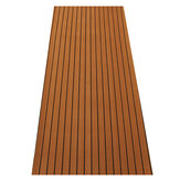 244 cm x 91 cm Marine Boat Flooring EVA Foam Yacht Faux Teak Decking Sheet Brown