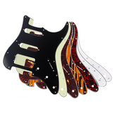 3Ply Electric Guitar Pickguard for HSS USA/MEX Fender for Stratocaster Strat Guitar Protecting Accessories 11Holes pickguard