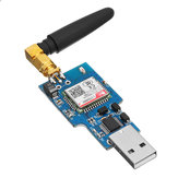 3pcs LC-GSM-SIM800C-2 USB to GSM Serial Port GPRS SIM800C Module with bluetooth Computer Control