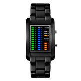 SKMEI 1103 Деловой стиль LED Дисплей Наручные часы Сталь Стандарты Творческий стиль Цифровые часы