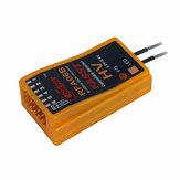 Cooltech RFA06B 6CH 2.4G FASST Compatibele Ontvanger voor Futaba 6EX 7C TM-7 TM-8 T8FGT10C