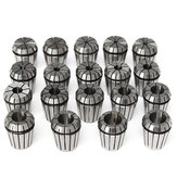 19pcs ER32 2-20mm Spring Collet Collet Chuck Set لـ CNC طحن الطحن أداة