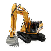 1:50 Alloy Excavator Toys Engineering Vehicle Diecast Model Metal Castings Pojazdy