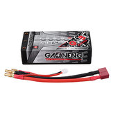 Gaoneng 7.6V 6000mAh 120C 2S HV 4.35V Lipo Battery T Plug for AX10 Scorpion RC Car