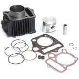Motorcycle Cylinder with Piston Gasket Top End Kit for Honda CFR50 70 90