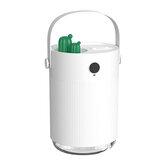 SOTHING H1 Настольный увлажнитель с двойным распылителем, емкость 1000 мл, зарядка через USB, низкий уровень шума, очаровательная атмосфера Лампа д