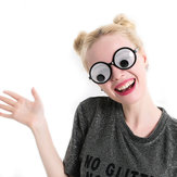 Grappige Googly Eyes Goggles Shaking Eyes Party Glazen en Speelgoed voor Party Cosplay Kostuum Kerstmis Halloween Party Decoration