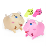 Whistle Pig Voice-activated Induction Electric Children's Toys Lighting Music Whistling Can Run