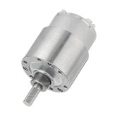 Machifit DC 12V Gear Motor 33/100/190RPM 37MM 500 Geared Motor
