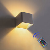 RGB lampada COB LED Applique in alluminio Scala Albergo Camera Art Decor + Telecomando