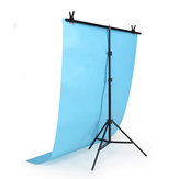 Support de fond de photographie de fond ajustable de type 2x2M T-type Stand Holder
