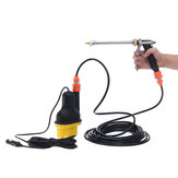 12V Portable High Pressure Power Electri Car Wash Water Pump Cleaner Sprayer Kit