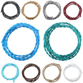 3M Vintage 2 Core Twist Braided Fabric Cable Wire Electric Lighting Cord