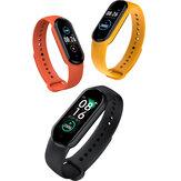 Bakeey M5 femmes Heath fréquence cardiaque pression artérielle moniteur d'oxygène Message en temps opportun rappel d'appel Sport montre intelligente