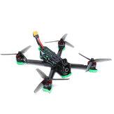iFlight Nazgul5 V2 5 Inch 6S Analog LED Version FPV Racing Drone BNF Caddx Ratel Cam 800mW VTX SucceX-E F4 Flight Controller 45A BLHeli_S ESC XING 2207 1800KV