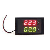 DL85-2042 Digital LED Voltage Meter Ammeter Voltmeter with Current Transformer AC80-300V 0-100.0A Dual Display