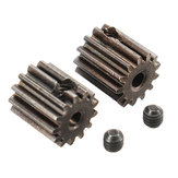 HBX 12891 1/12 Motor Pignon Gears 13T + Vis Set 3 * 3mm (2P) -Brushed 12060