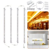 4 STKS 30 CM 30 W 5630 Transparante Cover LED Stijve Strip Lichtkast Lamp Keuken Showcase AC110-240V