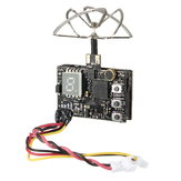 Eachine DTX03 DVR 5.8G 72CH 0/25mW/50mW/200mW Commutable VTX w/ Audio NTSC/PAL pour Drone  RC