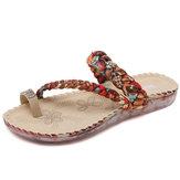 US Size 5-10 donne Bohemian Casual Beach Soft sandali piatti