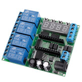 IO22C04 4 Channel Pro Mini Relay Module Expansion Board Multi-function Delay Relay PLC Power