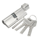 Aluminum Home Safety Lock Cylinder Door Cabinet Lock With 3 Keys