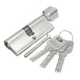 3つのキーのアルミニウム家の安全ロックシリンダードアのキャビネットロック