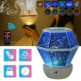 3 Styles Colorful Starry Sky Light LED Projector Music Romantic Lamp Night Light