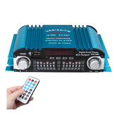 ST-997 Mini Car HIFI Audio Amplifier Board Digital Stereo Amp 4 Channels Blue 80W 12V USB SD FM Universal