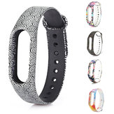 Multi Pattern Remplacement individuel TPU Watch Strap pour XIAOMI MIband 2