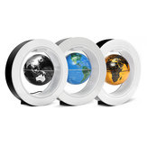 4-calowa lewitacja magnetyczna Floating Globe Map LED Light Home Office Desktop Decor Prezent
