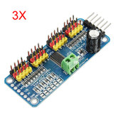 3Pcs PCA9685 Driver do servo motor PWM de 16 canais e 12 bits I2C Módulo Geekcreit para Arduino - produtos que funcionam com placas Arduino oficiais