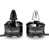 DXW D1806 2280KV 2-3S Brushless Motor CW CCW For 200 210 220 250 RC Drone FPV Racing Multi Rotor