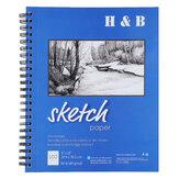 H & B Sketch Book 9