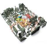97/114/127 قطع الجندي الجيش قنبلة دبابات صاروخ الطائرات الرمال مشهد طفل نموذج اللعب
