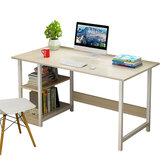 Çalışma Masası Yazma Bilgisayar Masası PC Ofis Ev İş İstasyonu Kitap Rafı Ahşap